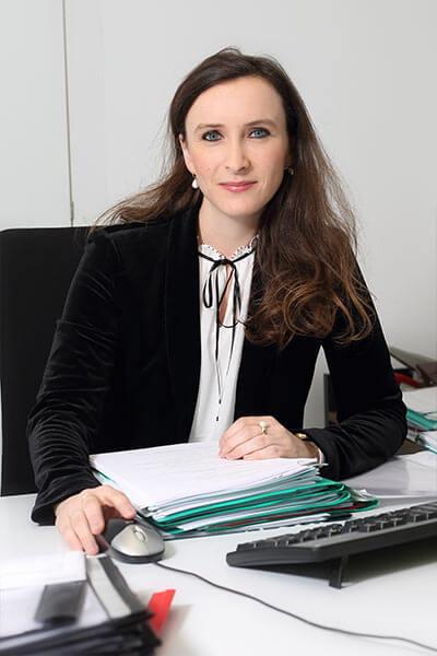 Kathrin Gilch, Oberinspektorin im Notardienst